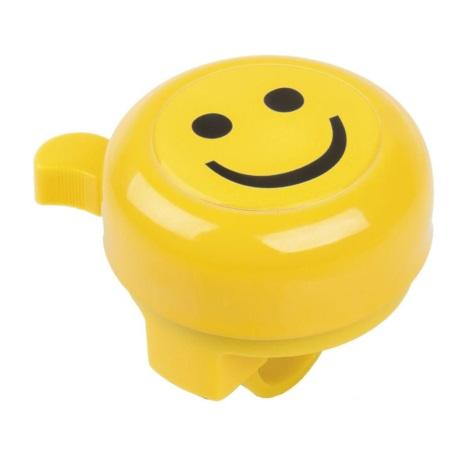 """Dzwonek rowerowy """"Smiley"""" żółty 3D"""