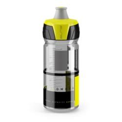 Bidon ELITECrystal Ombra dymno-żółty, 550ml