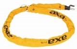 Zapięcie plug in AXA RLC 130 łańcuch żółte