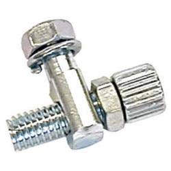 Śruba regulacyjna hamulca bębnowego z oporem