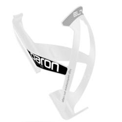 Koszyk bidonu ELITE Paron Race biało-czarny