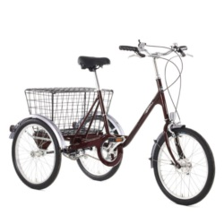 "Rower PASHLEY Picador 17"" Burgundy"