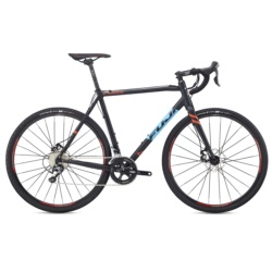 Rower FUJI CROSS 2.1 54 cm black/cyan 2018