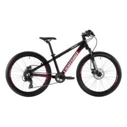 Rower dziecięcy Eightshot X-COADY 24 Disc czarny