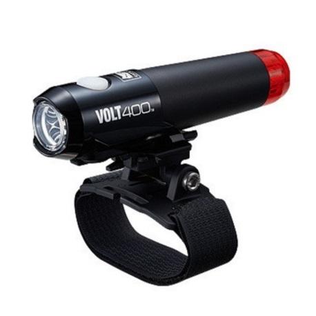Lampa przód CATEYE Volt 400 DUPLEX HL-EL462RC-H