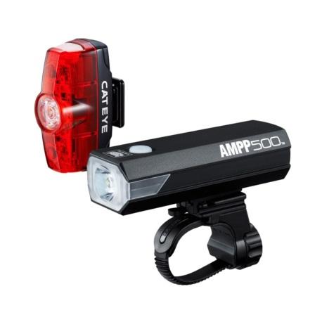 Zestaw lamp Cateye AMPP 500 Rapid MINI
