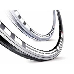 Obręcz 700c Accent Roadrunner CNC 36H czarna