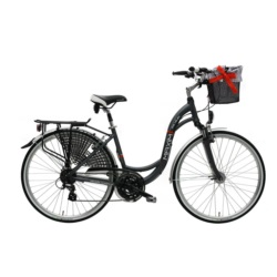 """Rower MAXIM 28"""" MC 1.6.24 (18'') czarny mat"""