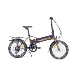 """Rower elektryczny Overfly Zing 20"""" fioletowy"""