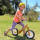 """Rower biegowy Cruzee 12"""" żółty"""